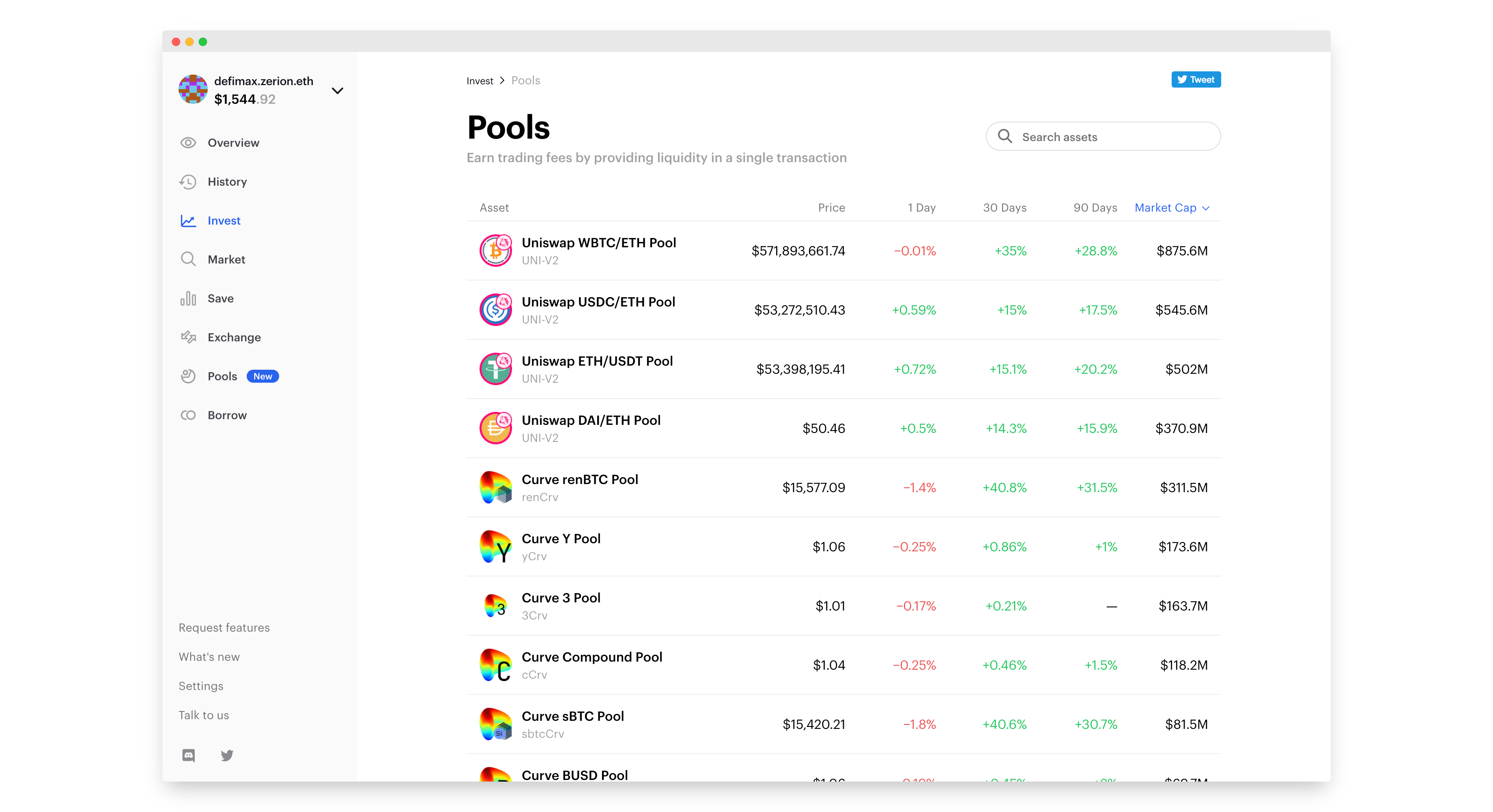 How to invest in a liquidity pool
